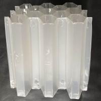 各种规格蜂窝斜管填料厂家直供 优质聚丙烯原料制成 量大从优