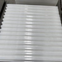 优质聚丙烯蜂窝斜管填料 35孔径斜管 厂家直供可定制