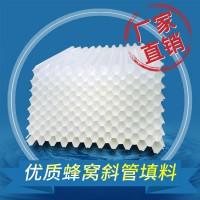 供应山西35/50/80mm斜管填料 优质原料pp 厂家现货