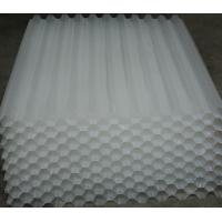 PP水处理填料蜂窝斜管 各种孔径斜管厂家现货供应