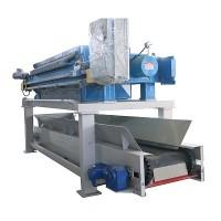 低位高效水洗滤布装置压滤机