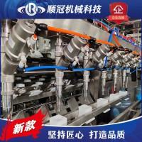 张家港顺冠QGF-900全自动桶装水灌装机全套大桶水生产设备