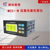 温度压力补偿型双路MC51W智能流量热量积算仪
