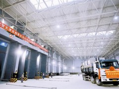 天津西青区生活垃圾综合处理厂PPP项目首车垃圾进厂