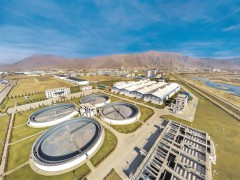 拉萨市污水处理厂(二期)-让浊水变清波 日处理污水13万吨