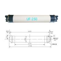UF250中空纤维超滤膜 PDVF材质超滤膜设备超滤膜组件