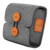 厂家直销毛毡包 充电器电源鼠标包 毛毡数码配件包 毛毡电源包