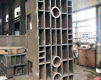 提供液压机机架焊接加工服务